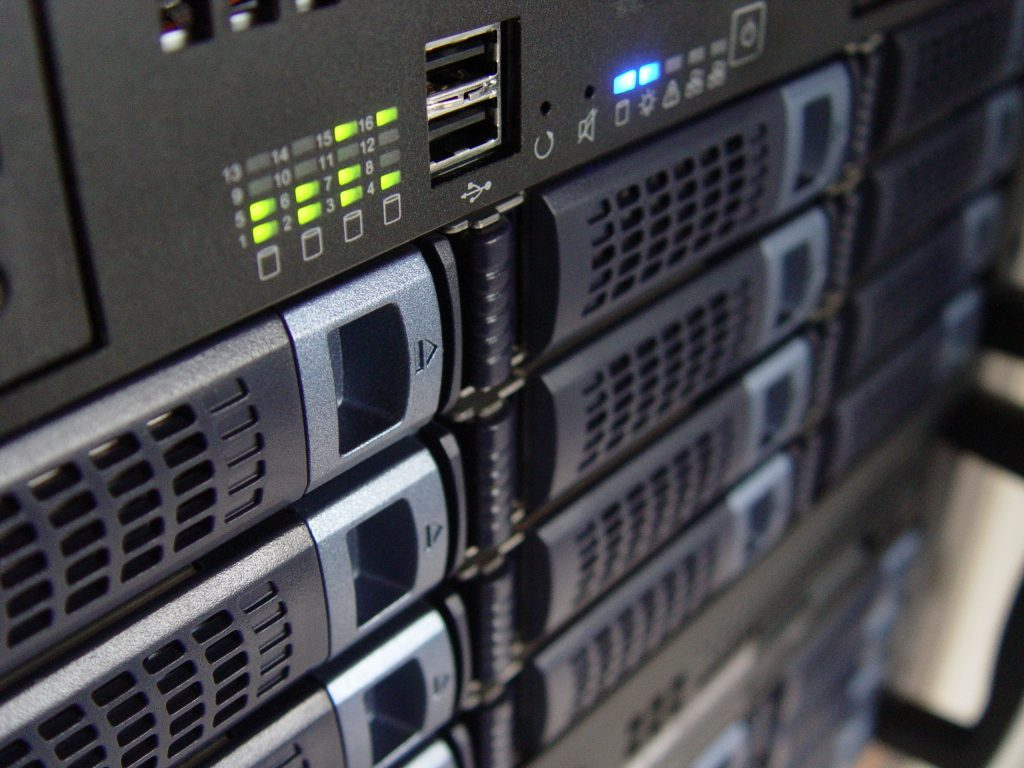 Picture of a rack system
